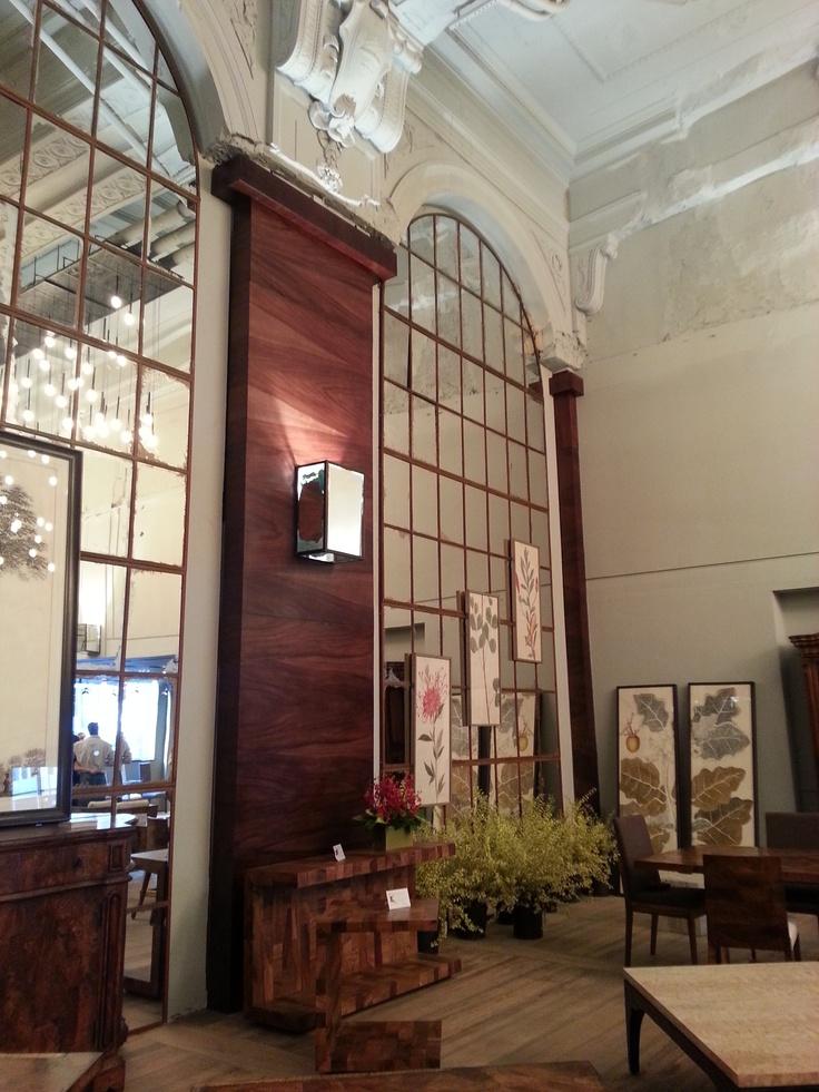 Amazing New Taracea Showroom In The Bank At Historic Radio Building