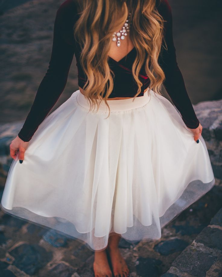 Holiday party inspo.. Tulle skirt by Bliss Tulle