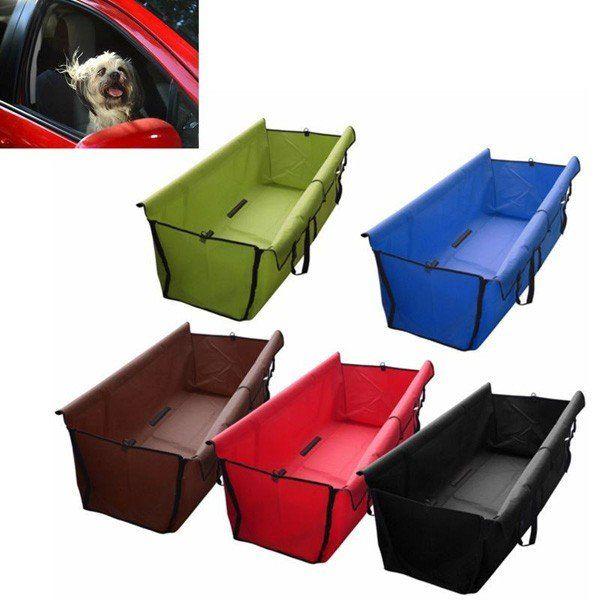 Собака кошка сзади автомобиля заднее сиденье водонепроницаемый чехол коврик защитник гамак подушки
