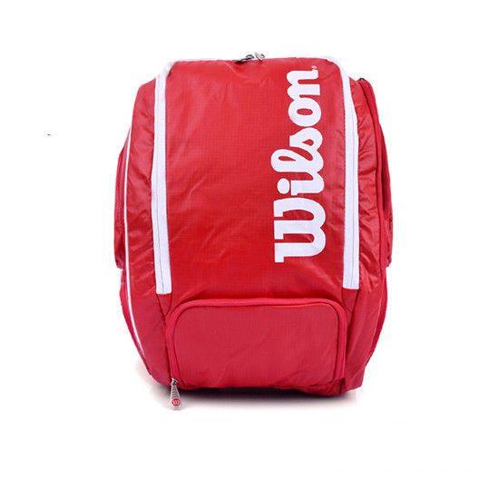 Wilson Tour V Backpack XL 2016 Tennis Bag Sports Racket Racquet Red WRZ-843699 #Wilson