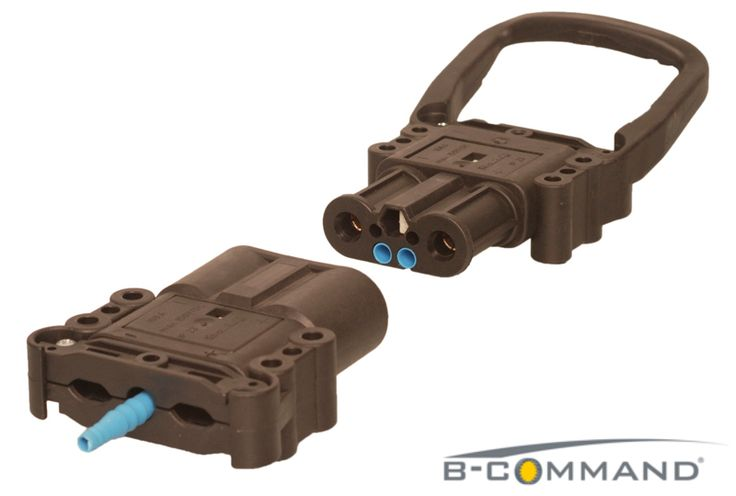 B-COMMAND DC-Steckverbinder Serie Air-Tech B-COMMAND Charging Connector Series Europe Air-Tech