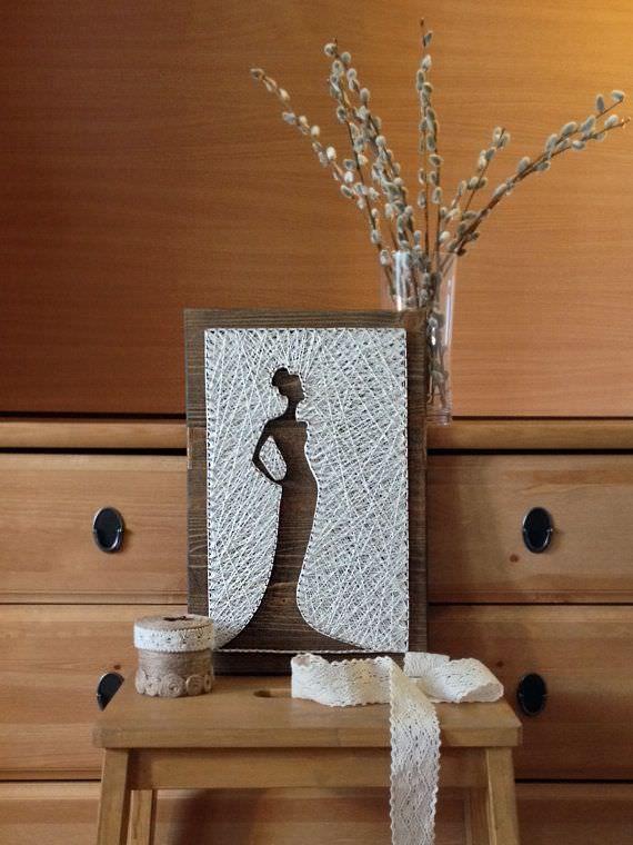 Inspiração: string art