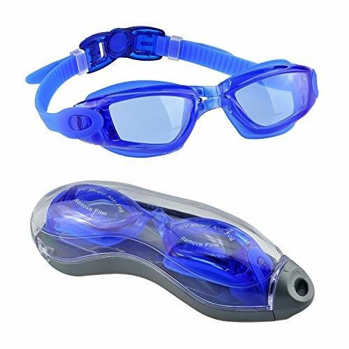 Oferta: 10.99€ Dto: -74%. Comprar Ofertas de Gafas de Natación,EveShine Gafas para Nadar Unisex Anti goteo Protección UV Cristal Anti Niebla para Adultos Jóvenes, Niños barato. ¡Mira las ofertas!