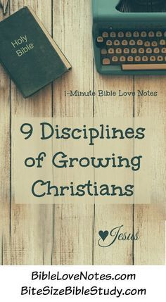 These 9 spiritual disciplines found in Psalm 119 help us stay on track with the…