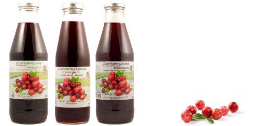cranberrysap van de Dutch Cranberry Group