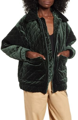 522340ba New I.AM.GIA Contraband Quilted Velvet Jacket online. [$179.95] from top  store foryourshopping