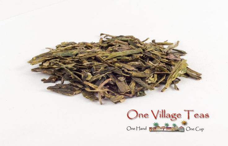 Lung Ching Dragonwell A high quality green tea, in every sip you will enjoy light oak notes and the wholesomeness that only green tea can give. This tea is enhanced when combined with citrus or honey.   www.onevillageteas.com