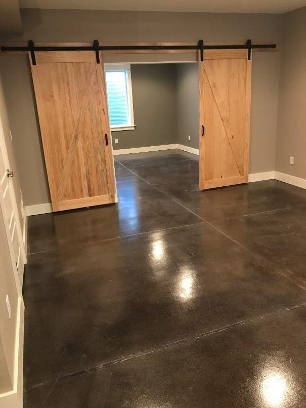 Waxed Concrete Seal Floor