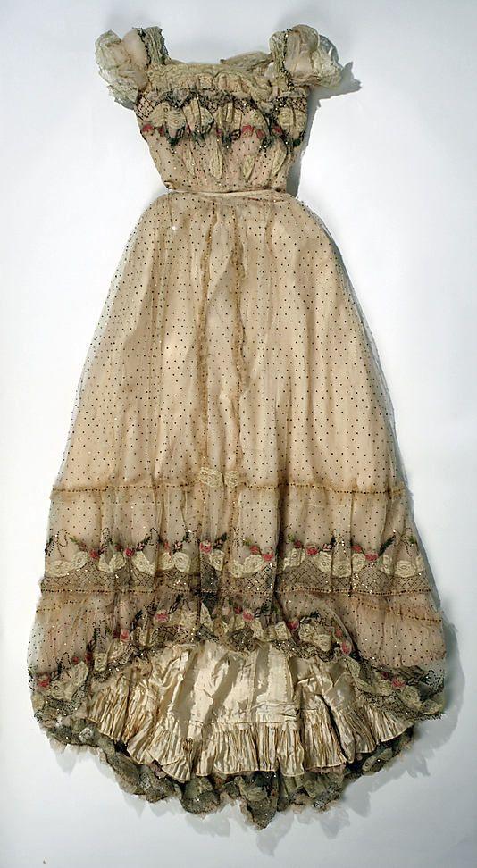 Evening dress (1899)