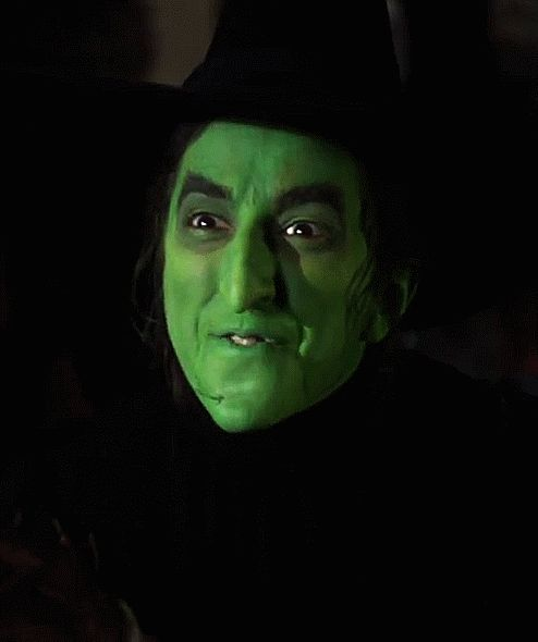 "an-unconventional-lady: "" ""The last to go will see the first three go before her!"" Margaret Hamilton as The Wicked Witch of the West in The Wizard of Oz (1939) """