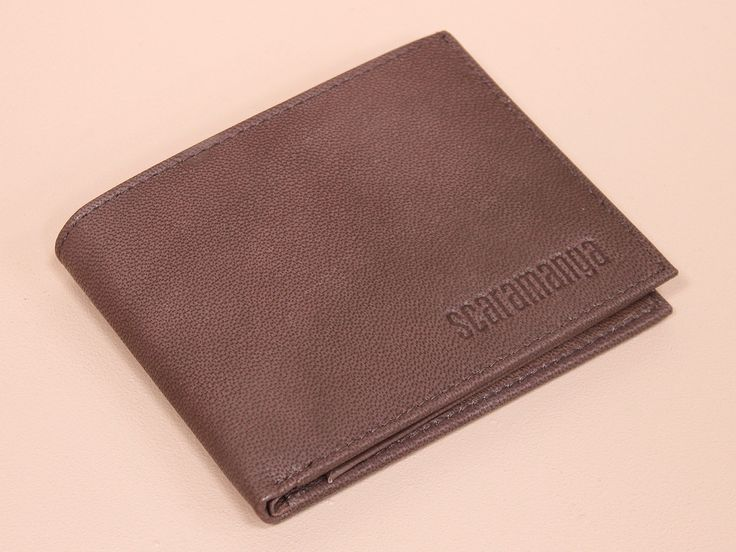 Men's Brown Leather Wallet https://www.scaramangashop.co.uk/item/8621/139/Gifts-For-Men/Mens-Brown-Leather-Wallet.html