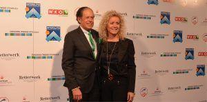 Der Präsident der Wirtschaftskammer Tirol Dr. Jürgen Bodenseer mit seiner Gattin Monika.