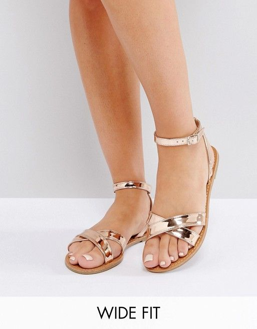 Buy Beige Asos Flat sandals for woman at best price. Compare Sandals prices  from online stores like Asos - Wossel Global