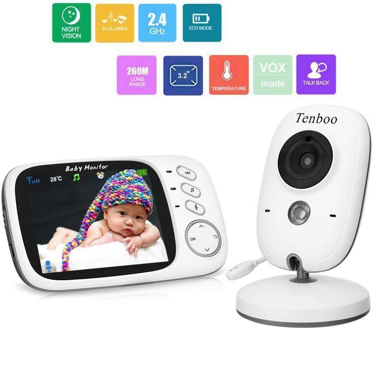 Tenboo Babyphone Mit Kamera Video Babyphone Wireless 3 2 Lcd Digital Scr Mode