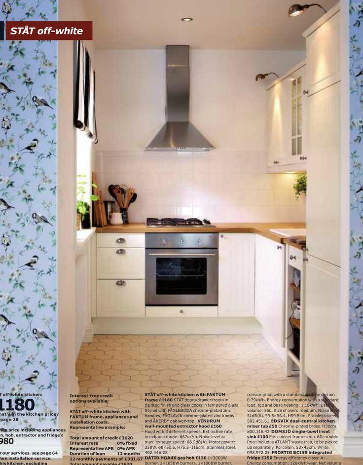 Ikea Stat Offwhite Kitchen Style Kitchen Pinterest