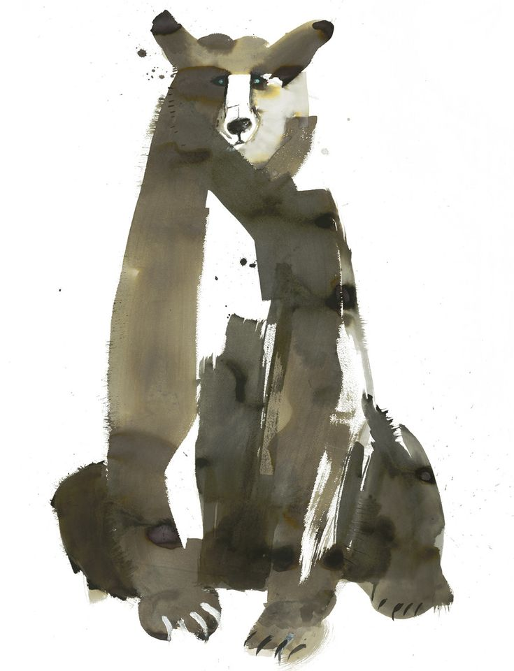 Sarah Maycock: Graphic, Bears, Art, Illustration, Bear Painting, Drawing, Animal, Pick Me Up