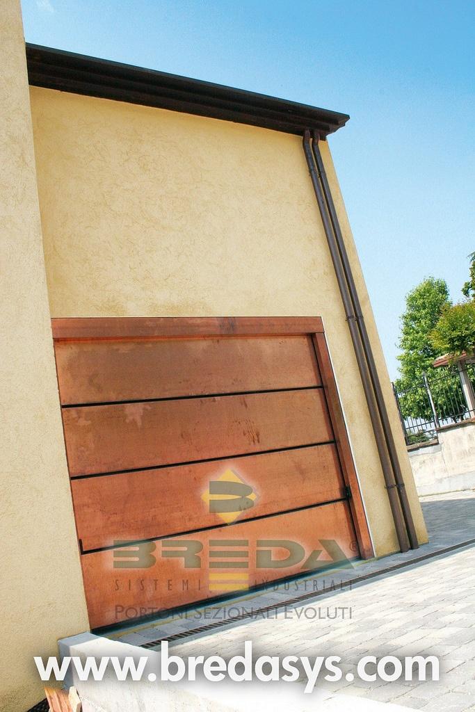 Simple Sectional garage door LE PERLE by Breda Porta sezionale da garage LE PERLE by Breda