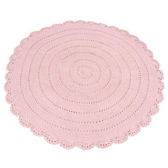 Vloerkleed Roundy  - Pink roze