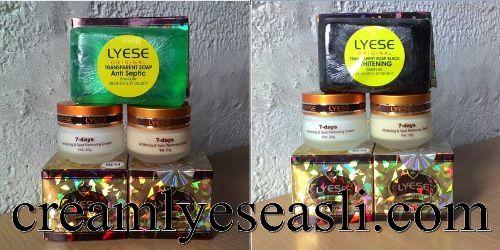 http://creamlyeseasli.com/  Cream Lyese Asli Cream Lyese Asli Cream Lyese Asli merupakan salah satu paket cream perawatan wajah yang di percaya mampu mengatasi masalah wajah, Cream Lyese Asli sangat bermanfaat untuk menjadikan kulit lebih halus dan cerah, dan bebas flek