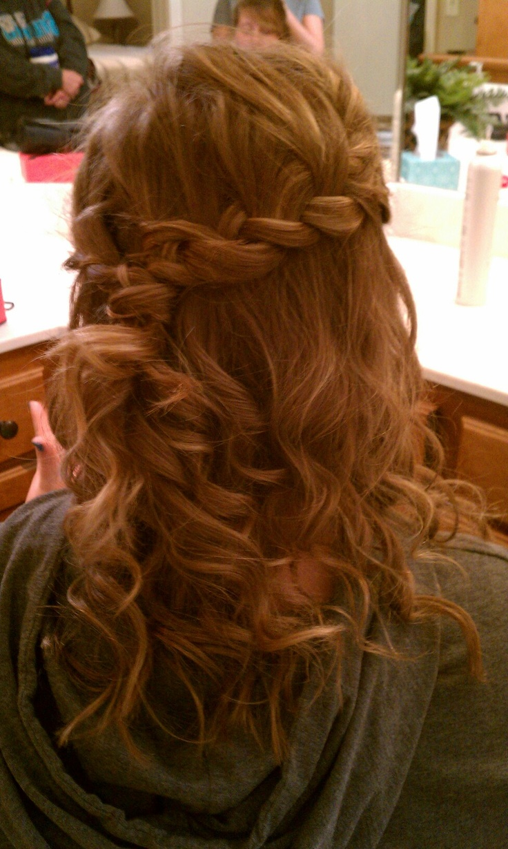 Homecoming hair!