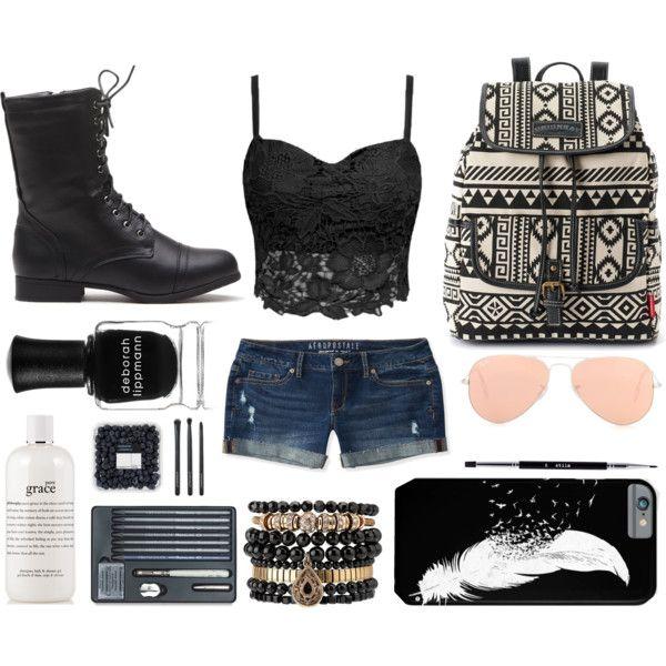 Hippie punk Outfit Idea 2017