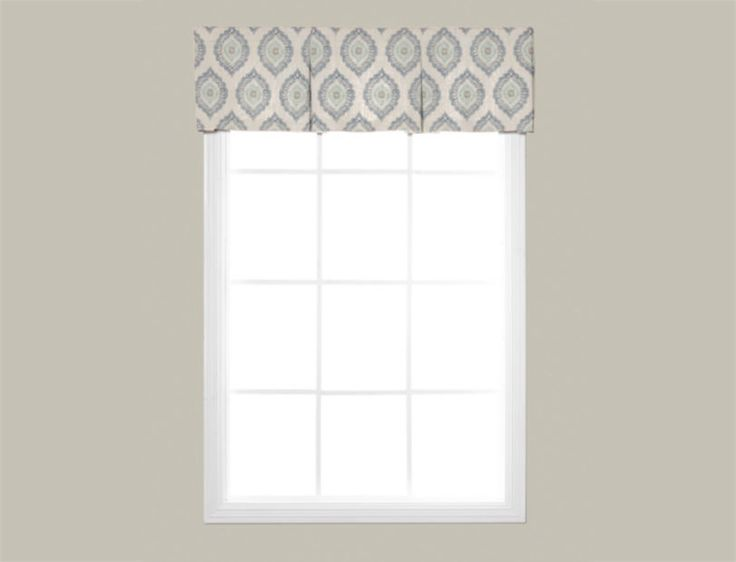 Wendy Bellissimo Home Box Pleat Fabric Valance