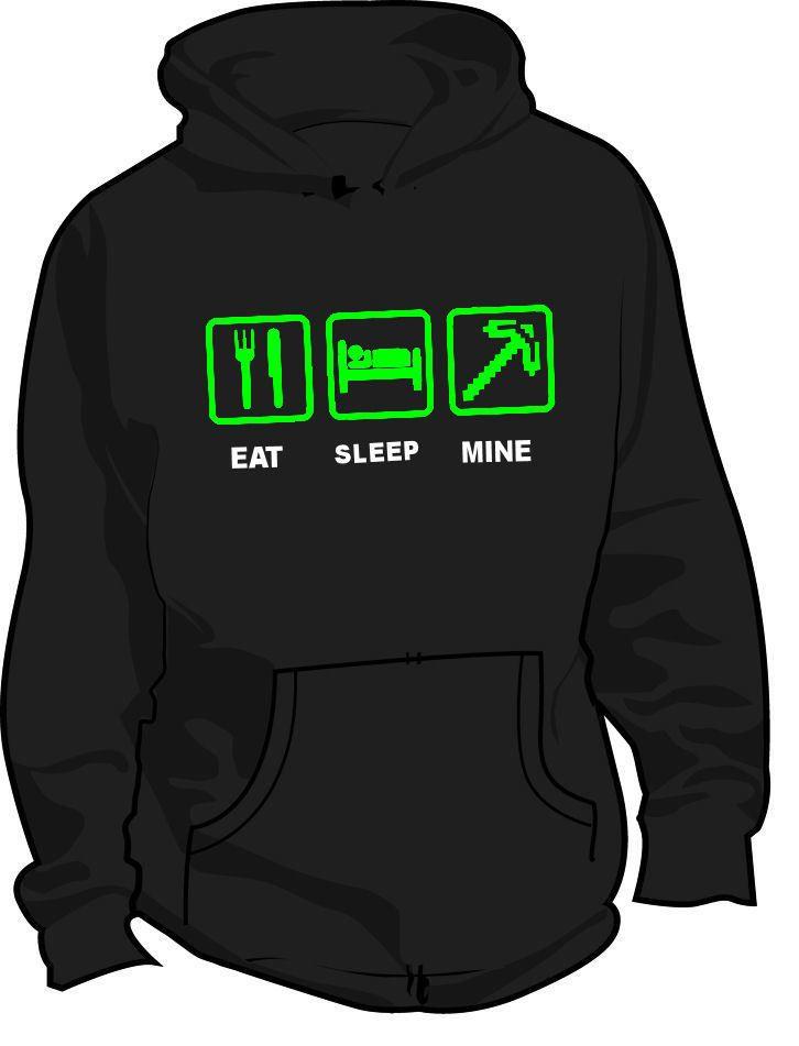 Minecraft hoodie...