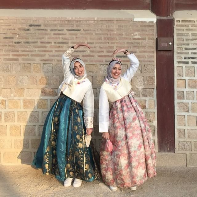 "9,191 Likes, 70 Comments - Mega Iskanti (@megaiskanti) on Instagram: ""It was 7 degrees, but we were soooo happy to worn this traditional clothes without a coat! Another…"""
