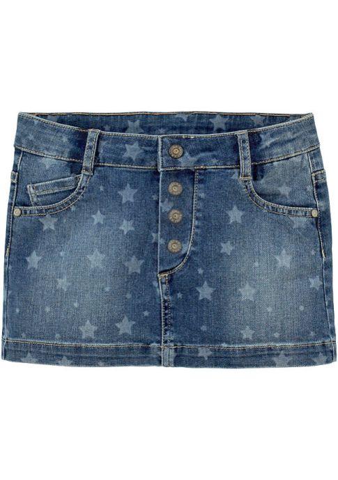 Джинсовая юбка ArizonaДжинсовая юбка.  В созданной специально для женщин версии GOLD используются резиновая подошва, украшенная кристаллизованными блестками, и материалы премиум-класса с золотистой отделкой.