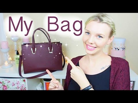 WHATS IN MY BAG?   Isabeau - YouTube