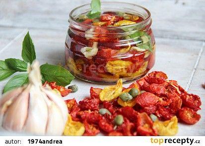 Naložená sušená rajčata ( ze sušičky ) recept - TopRecepty.cz