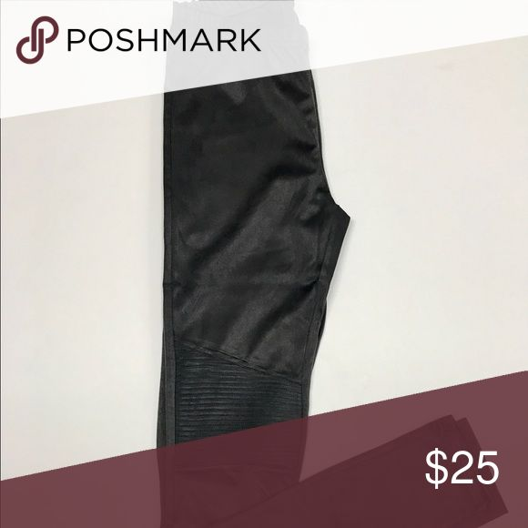 Charcoal Leggings Super soft legging in dark charcoal in a faux suede.  Pair with your favorite tops and sweaters this season!  Simple pull on leggings with elastic waist.   Designer DEX  89% Polyester, 11% Spandex Machine Wash Cold, Separately, on Gentle Cycle, Lay Flat to Dry dex Pants Leggings
