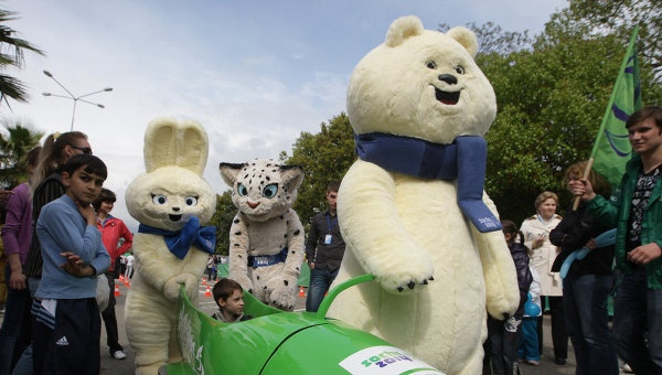 sochi olympic mascots | Sochi Olympic Mascots to Appear on Coins | Sports | RIA Novosti
