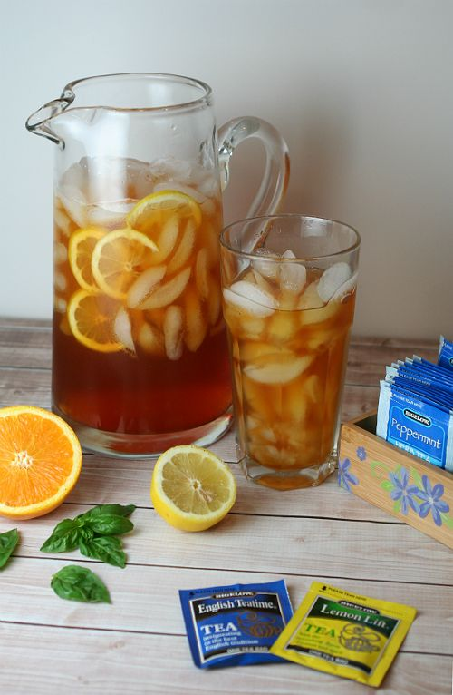 A DIY Tea Station and Tasty, Refreshing Iced Tea Recipes with Bigelow Tea! | Busy-at-Home