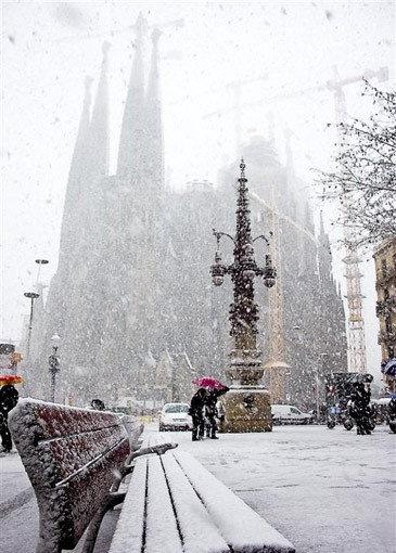 Nevada histórica en Barcelona (2)