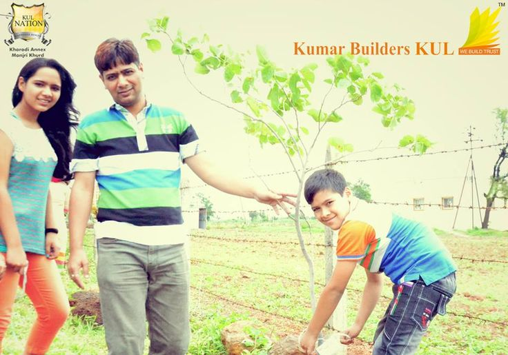 Kumar Builders KUL celebrating 68 Years of Independence by conducting a Tree Plantation Event to spread awareness for conserving environment.