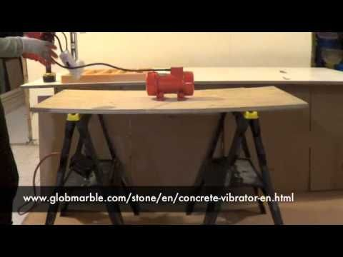 ▶ How to make an inexpensive concrete vibrating table for concrete stone - YouTube