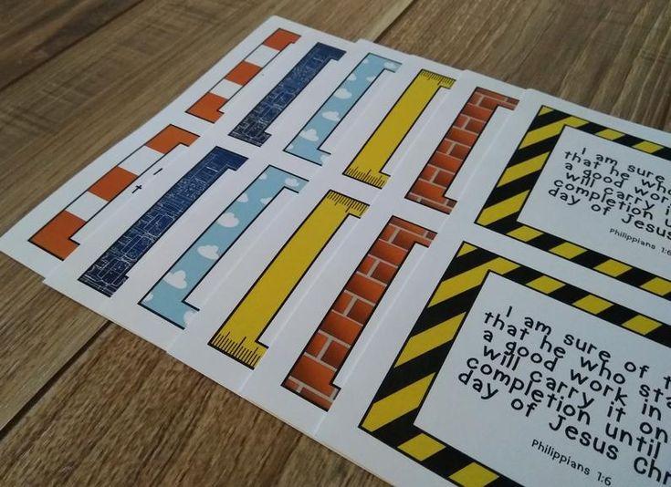 Concrete cranes lifeway vbs memory verse printables