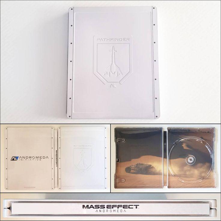 G2 Steelbook.  Mass Effect Andromeda.  Region: US & EU.  #geek #nerd #gamer #gamerguy #instagamer #instagaming #ps4 #playstation4 #playstation #trophyhunter #trophyhunting #steelbook #steelbookcollector #gamecollector #teamPIGS #masseffect #masseffectandromeda