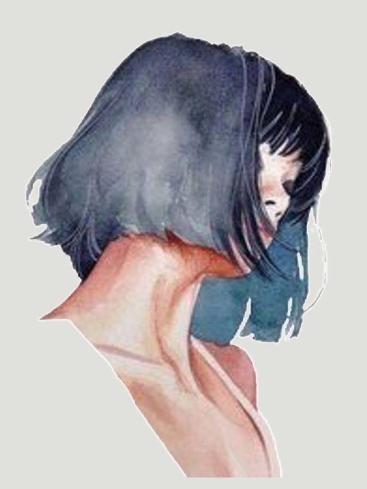 Watercolor Paintings By Rosaria Battiloro Shades Of Black Art