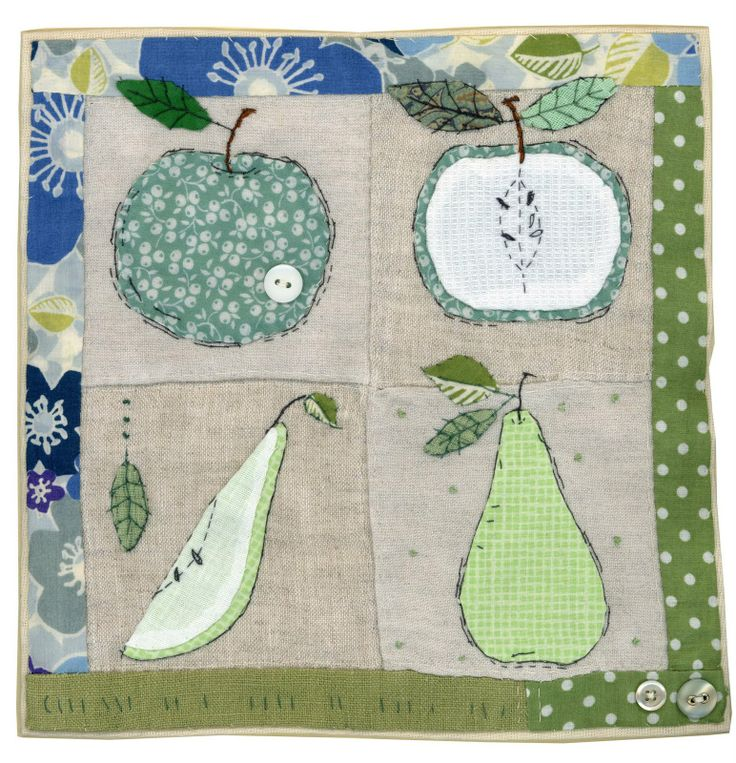 Apples and pears by Sharon Blackman