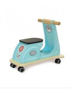Jamn Scoot Aqua $119.95 #sweetcreations #kids #babies #toys #play #rideon #rocking