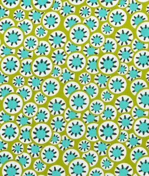 Amy Butler Kaleidoscope Dots Leaf Fabric - another choice for the bedroom chair