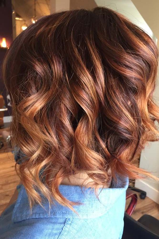 20 Trendy Hair Colors For Winter 2020 Balayage Kurze Haare