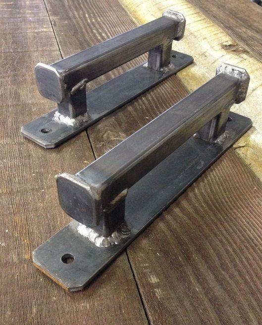 Morris Industrial puerta manija/Pull Single por IdahoSteelworksLLC