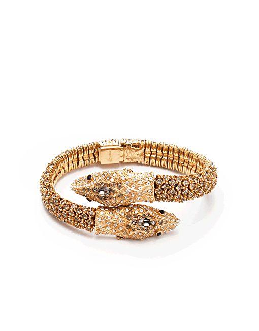 Gilded Serpent Bracelet