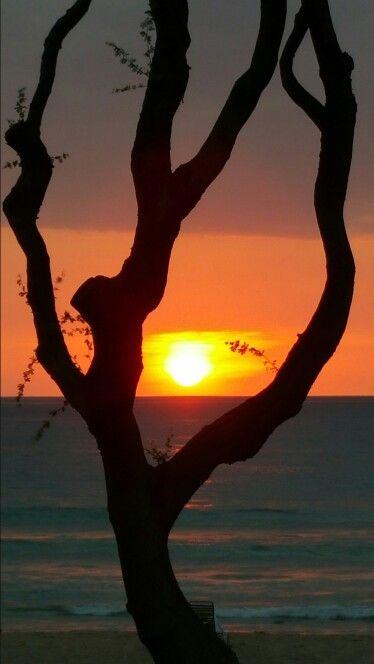 The Big Island sunset, Hawaii