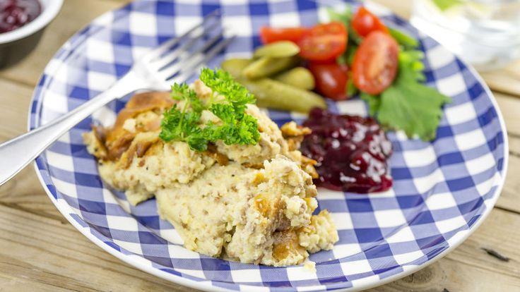 Jauheliha-perunasoselaatikko - Reseptit - HooKoo.fi