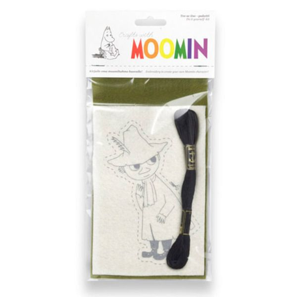 Do it yourself-kit to create your own Moomin character, felt quilt emboidery