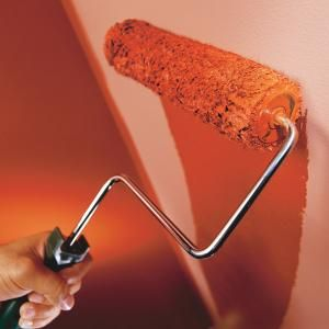 How to avoid roller marks when using a paint roller.